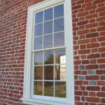 New window frames completed.
