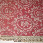 Fragment original wallpaper in the collection of Colonial Williamsburg Foundation.