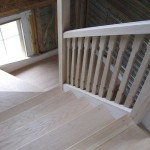 Kitchen stairs finished 2007.