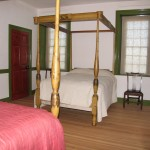 Parlor Chamber, matched original bed